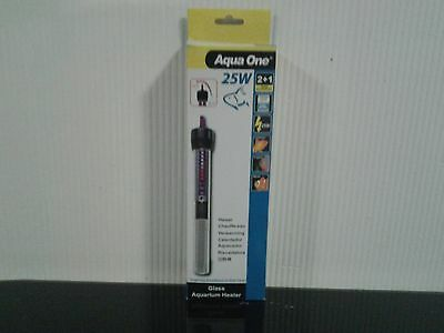Aqua one 25w glass aquarium heater