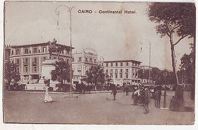 Postcard (ref 2391) – Cairo - Continental Hotel (old)
