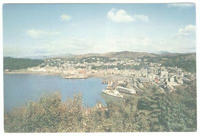 Postcard (ref 1200) – Oban Bay and Town from Pulpit Hill