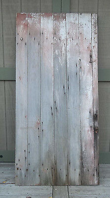 "Farmhouse BARN DOOR 68"" AUTHENTIC Vintage OLD Door FARM DOOR Salvaged Barn Wood"