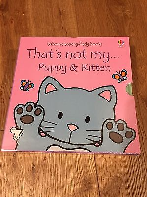 That's Not My Puppy And Kitten Books Brand New Still In Sealed Plastic