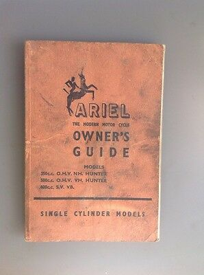 Ariel Owners Guide