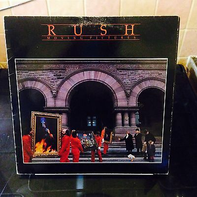 Rush Moving Pictures Vinyl, UK pressing