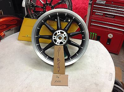 00-06 Rear Harley Davidson OEM 16X3 Wheel Fits Most Models with 3/4 Axle