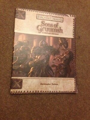 Dungeons And Dragons Forgotten Realms Sons Of Gruumsh