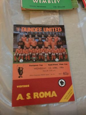 1984 European Cup Semi Final. Dundee United V As Roma