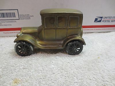 Vintage BANTHRICO Metal Car Auto Coin Bank 1926 FORD MODEL T