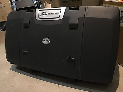 Peavey Messenger M100 Portable Active PA Speaker System with Mixer