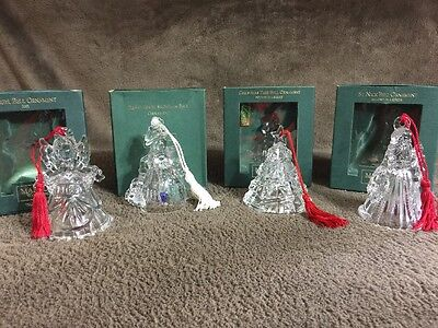 Waterford Marquis 4 Bell Ornaments