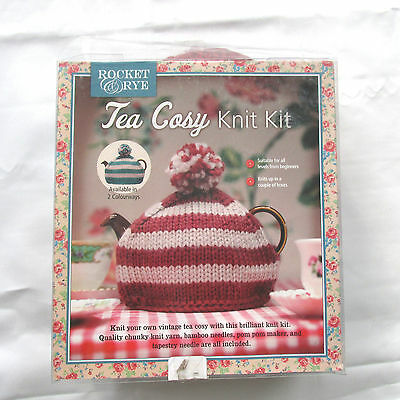 Rocket & Rye Tea Cosy Knit Kit - (SOME parts are missing) NEW
