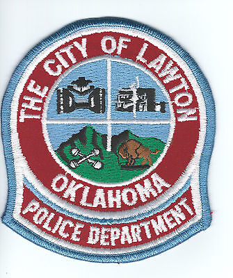City of Lawton Oklahoma Police patch