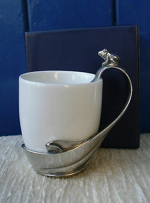 Lovely Royal Selangor Cup With Frog Detail