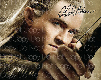 Lord of the Rings signed Legolas Bloom 8X10 photo picture poster autograph RP