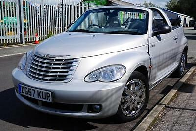 2007 57 Chrysler PT Cruiser Convertible 2.4 Auto Limited Leather 67,000