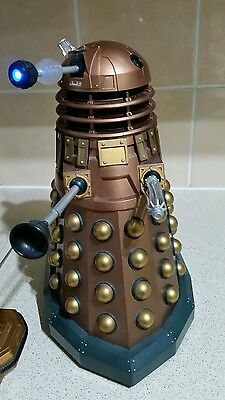 BBC Worldwide Limited Dr Who Large Gold Dalek Radio Remote Control 12""