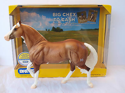 Big Chex to Cash - American Q.H. Reining Champion #1357 2009 with box