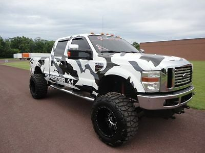 2008 Ford F-250 Lariat 2008 FORD SUPER DUTY F-250 SINISTER 6.4L CUSTOM SHOW TRUCK LIFTED 100K INVESTED
