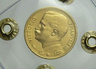 1912 Italy 20 Lire Gold Coin