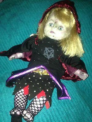 Hand Crafted Re Vamped Witch Doll