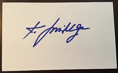 Karl Mildenberger signed index Heavyweight Contender Boxing MuhammadAli Opponent