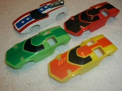 """4-Vintage Aurora Concept Slot Car Bodies NICE """"COMBINED SHIPPING"""""""