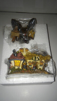 BOYDS Bears Town Bearly-Built VILLAGE EMILY'S CARROT COTTAGE NIB