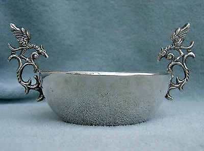 18th Century Spanish Colonial Silver Bowl