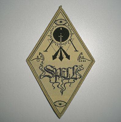 Spell (Canada) official woven patch, the full moon sessions, heavy metal