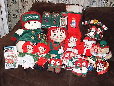 Raggedy Ann And Andy Snowden Collection