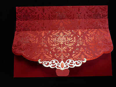Chinese New Year Feng Shui 3 Lucky Red Envelopes Packets  Wedding Engagements