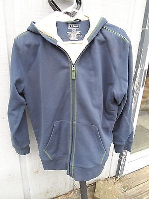 LL Bean zip up hoodie-youth XLG  LOOK