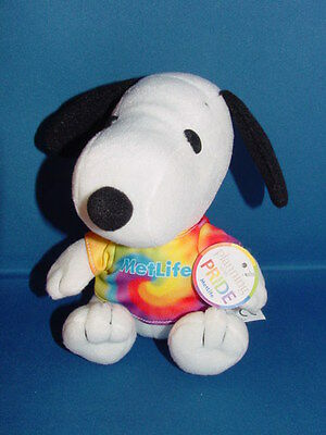 Metlife Snoopy Planning With Pride New With Tag 2011