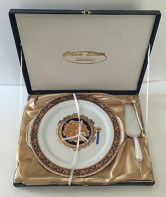 Bacchus  T. Limoges Designed In France China Serving Plate And Spatula