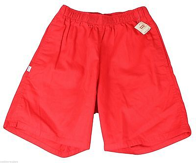 """NEW VTG 80s LEVIS Red SHORTS 32"""" Waist Youth Large Adult Small Deadstock NWT NOS"""