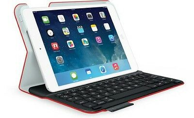 Logitech Ultrathin Keyboard Folio for iPad mini Mars Red Orange (FRA Layout - AZ