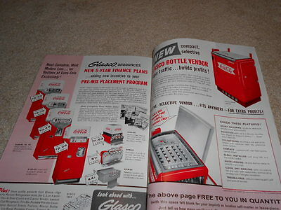 The Coca Cola Bottler Magazine With Numerous Photos Of Machines,coolers And More