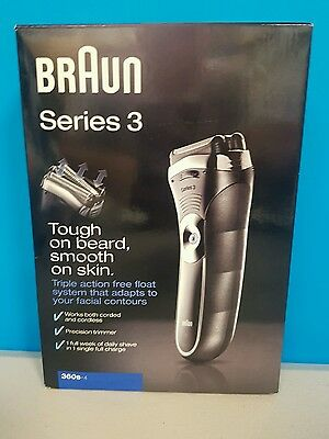 Braun Series 3 Men's Cordless Electric Shaver 360s-4