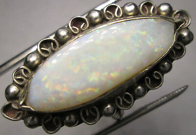 SPECKLED AUSTRALIAN NATURAL OPAL ring size 8