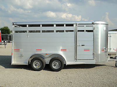 New 16' All Aluminum Stock / Horse Trailer  * Year End Sale * Dr Trailer