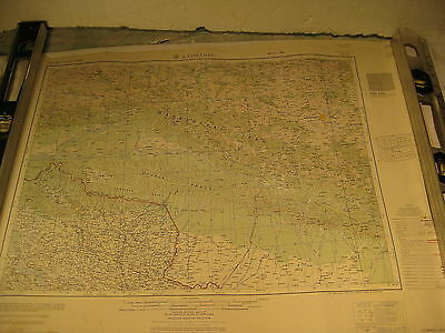 Vintage Army Topographic Map India and Pakistan Katmandu Napal 1955/1963