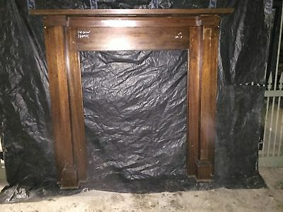 Timber Mantle Piece 1460w X 1400h Fire Place