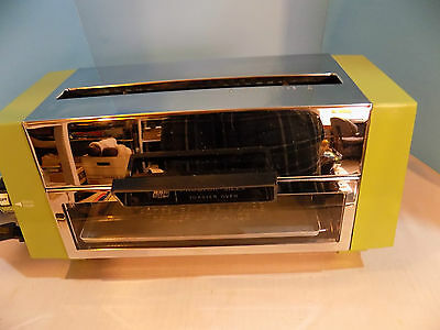 Vintage Proctor - Silex All in One Toaster Oven and Toaster Green