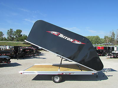 New Triton 12' Snowmobile Trailer * Year End Sale Going On Now * Dr Trailer