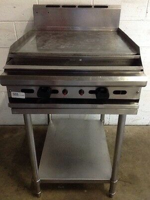 TRUEHEAT 600mm FLAT PLATE grill griddle commercial restaurant cafe LPG Refurbed