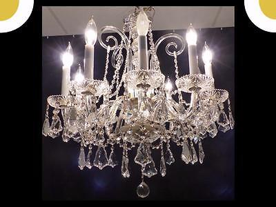 Genuine Full Leaded European Crystal Chandelier Exceptional Crystals 15 Arms