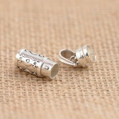 SILVER charm Pendant pet dog cat memorial Cremation Ash  Urn P1051