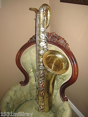 Vintage Selmer Baritone Saxophone - Selmer Saxophone -Just Had It Checked Out