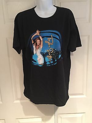 Taylor Swift Speak Now World Tour 2011 Black Tee Shirt Us Size L Short Sleeve