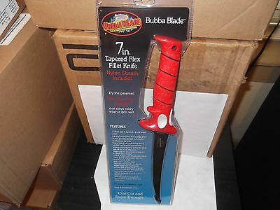 Bubba Blade 7 inch Tapered Blade Flex Fillet Knife HC Stainless Steel