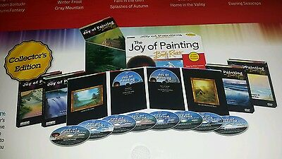 The Joy of Painting with Bob Ross® DVD Set Collector's Edition of 20 Lessons